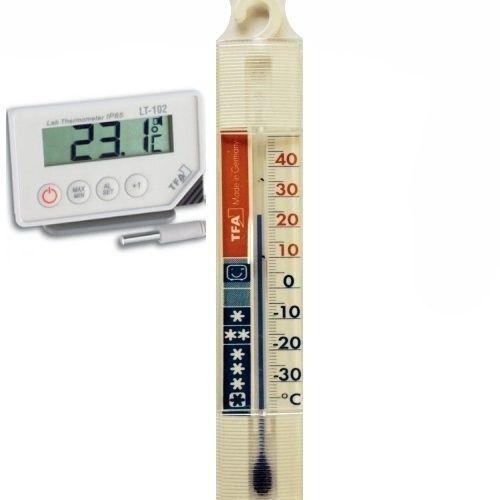 Pre chladničku a mrazničku s certifikátom o kalibrácii