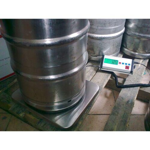 Váhy na váženie pivných sudov