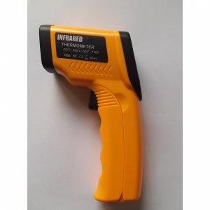 Infračervený teplomer 8380    -50 °C až +380°C s certikátom o kalibrácii