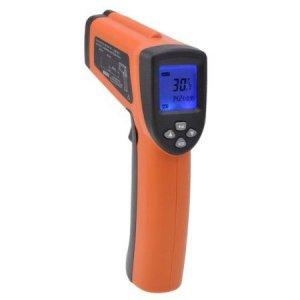 Infračervený teplomer 8016 dvojlaserový  -50 až + 1600 °C s certifikátom o kalibrácii