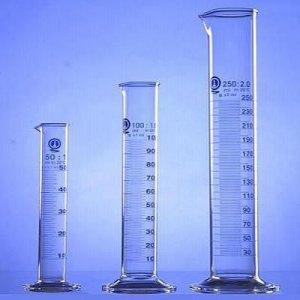 Odmerný valec 50 ml s certifikátom o overení