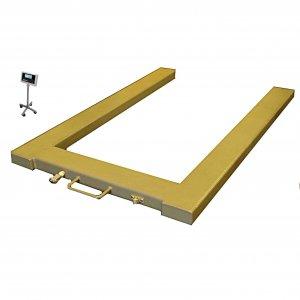 Paletové váhy NLDW do 600 kg tvaru U