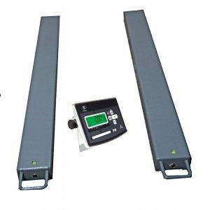 Paletové obchodné celonerezové váhy PW do 600kg -lyžiny