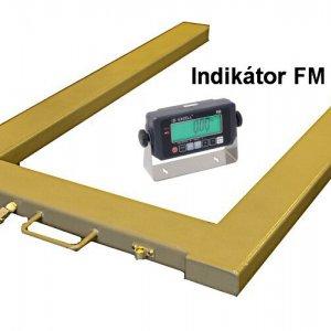 Paletové obchodné váhy FM do 1500 kg v tvare U