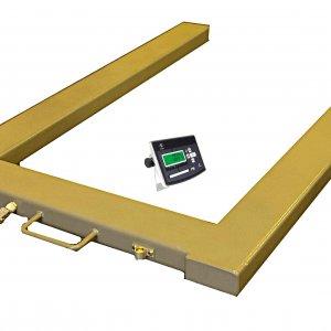 Paletové obchodné celonerezové  váhy PW do 600 kg tvaru U