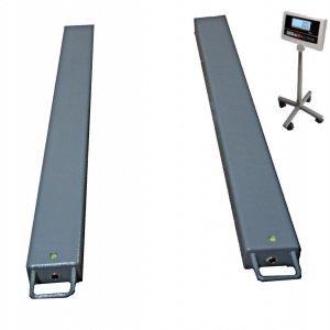 Paletové váhy NLDW do 1500 kg-lyžiny