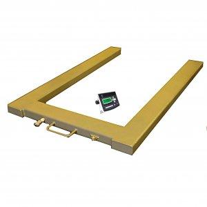 Paletové celonerezové váhy PW do 1500 kg tvaru U