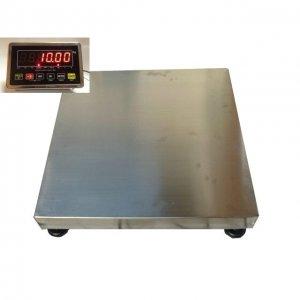 Plošinové váhy NLD SS do 300 kg rozmer 60 x 60 cm