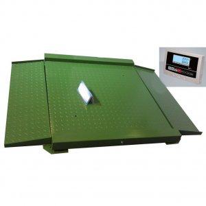 Nízkoprofilové váhy NLDW do 1500 kg 1,5 x 1,5 m