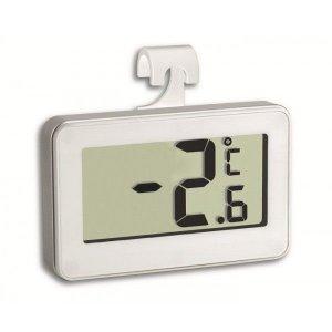 TFA 30.2028.02 pre chladničku s certifikátom o kalibrácii v bodoch 2, 6, 10 °C