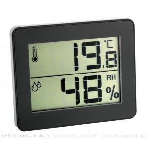 Vlhkomer s teplomerom 30502701 pre chladný sklad s certifikátom o kalibrácii v bodoch: 2,6,10°C / 70,80,90%